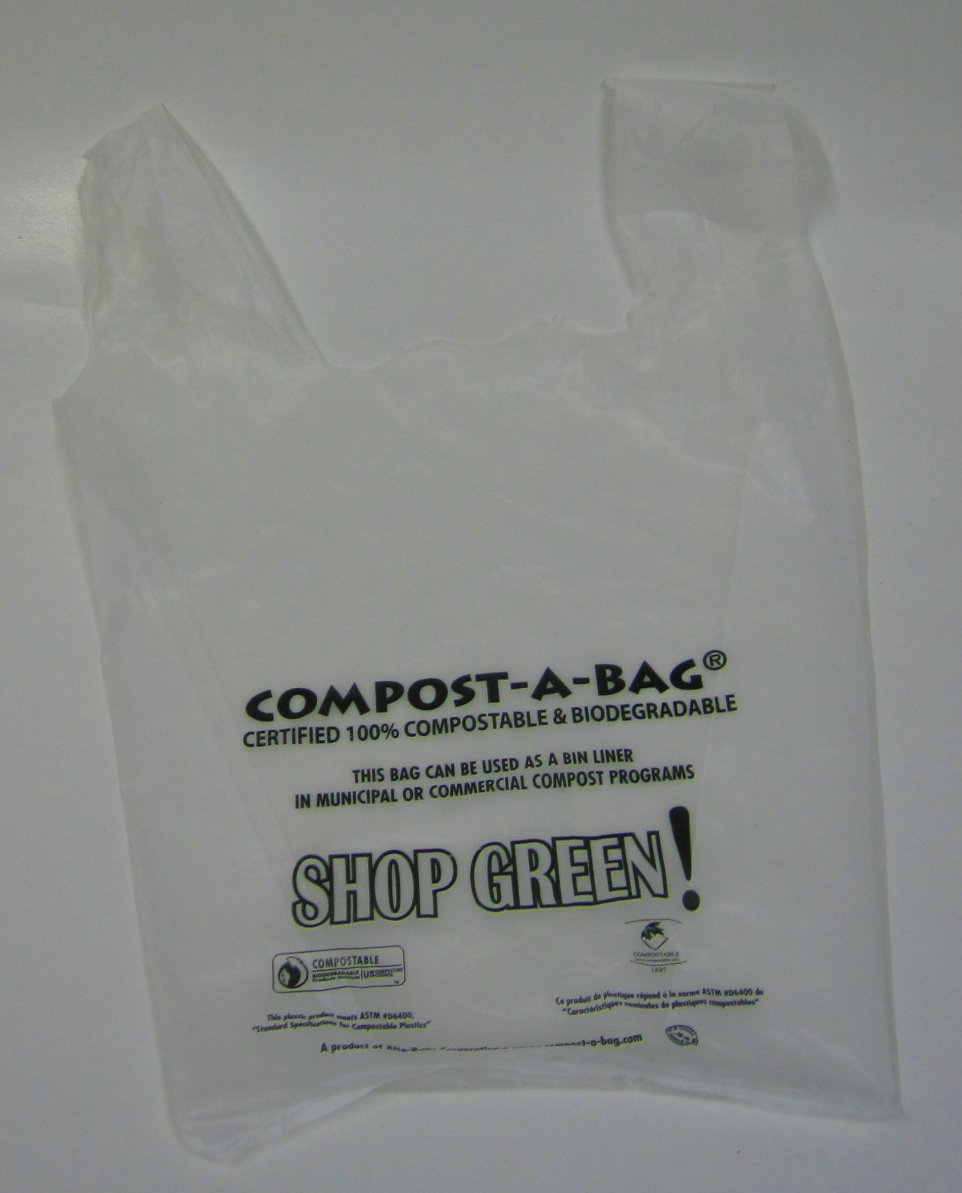 T shirt bags canada green natural products for Plastic bags for t shirts